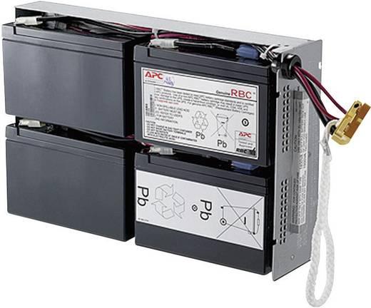 USV-Anlagen-Akku APC by Schneider Electric ersetzt Original-Akku RBC24 Passend für Modell SU1400RMI2U, SUA1500RMI2U