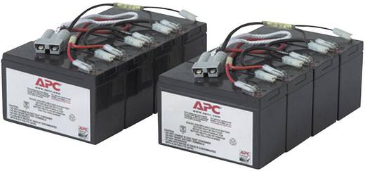 USV-Anlagen-Akku APC by Schneider Electric ersetzt Original-Akku RBC12 Passend für Modell SU3000R3IBX120, SU3000RMI3U, S