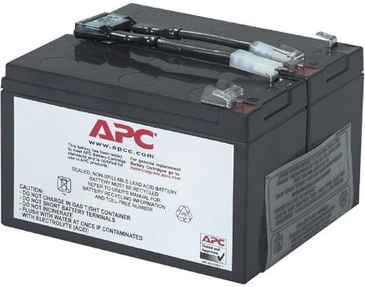 USV-Anlagen-Akku APC by Schneider Electric ersetzt Original-Akku RBC9 Passend für Modell SU700RMINET, SU700RMI