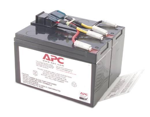 USV-Anlagen-Akku APC by Schneider Electric ersetzt Original-Akku RBC9 Passend für Modell DLA750I, SUA750I, SUA750