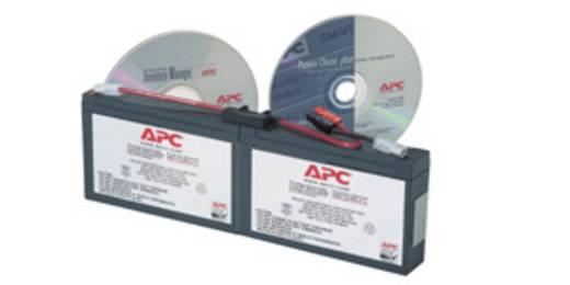 USV-Anlagen-Akku APC by Schneider Electric ersetzt Original-Akku RBC18 Passend für Modell SC250RMI1U, SC450RMI1U, PS250I