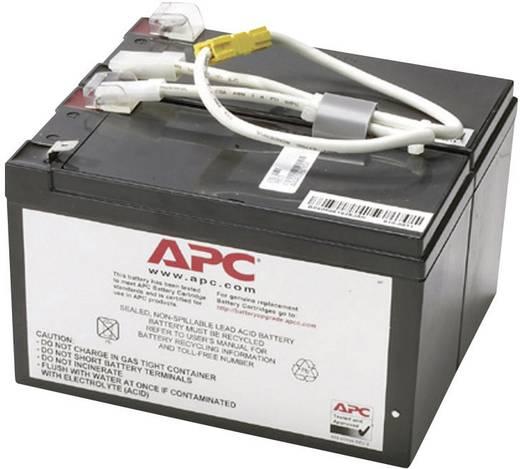 USV-Anlagen-Akku APC by Schneider Electric ersetzt Original-Akku RBC5 Passend für Modell SU450I, SU450INET, SU700INET, SU700I, SU700IBX120, SU600INET, SU600I