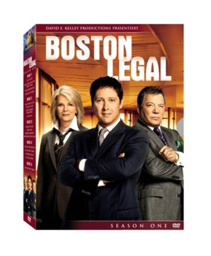 DVD Boston Legal Season 1 FSK: 16