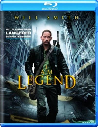 blu-ray I Am Legend FSK: 16