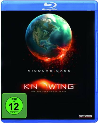 blu-ray Knowing FSK: 12