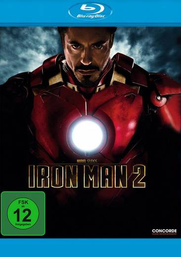 blu-ray Iron Man 2 FSK: 12