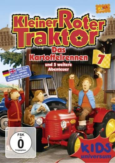 Kleiner roter Traktor 7 Das Kartoffelrennen und 5 weitere Abenteuer