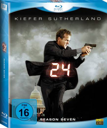 blu-ray 24 Season 7 FSK: 16
