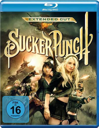blu-ray Sucker Punch FSK: 16