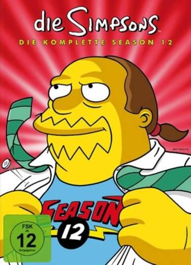 DVD Die Simpsons Staffel 12 FSK: 12