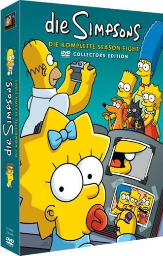 DVD Die Simpsons Staffel 8 FSK: 12