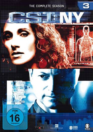 DVD CSI New York Season 3 FSK: 16