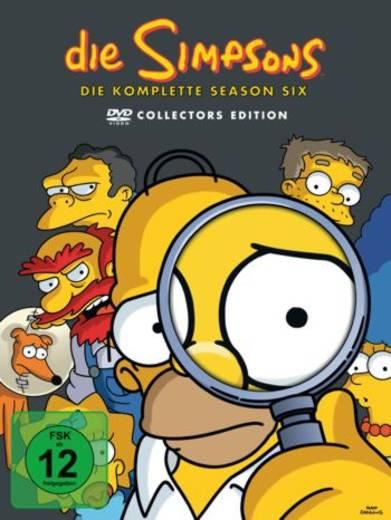 DVD Die Simpsons Staffel 6 FSK: 12