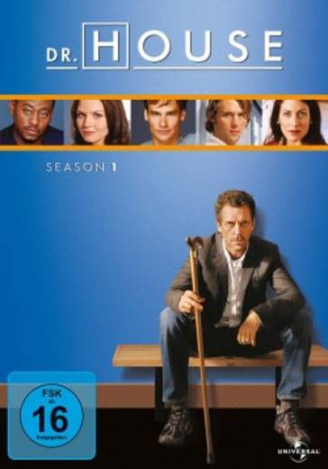 DVD Dr. House Season 1 FSK: 16