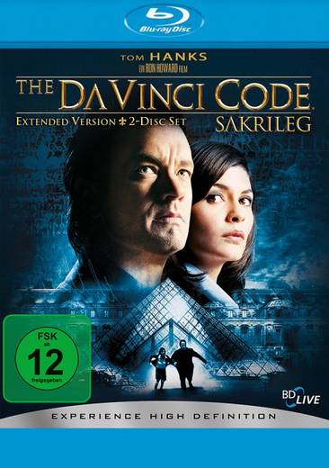 BLU-RAY The Da Vinci Code - Sakrileg (Extended Version)