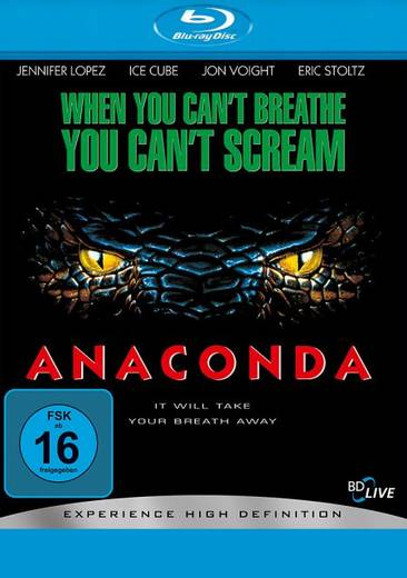 blu-ray Anaconda FSK: 16