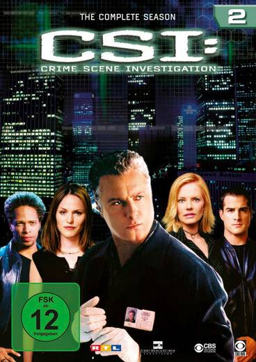 DVD CSI Crime Scene Investigation Season 2 FSK: 12