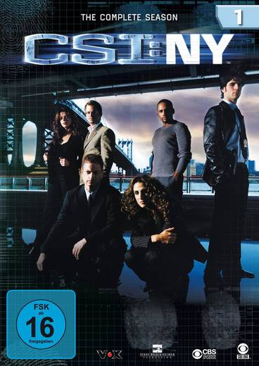 DVD CSI New York Season 1 FSK: 16