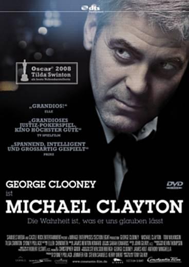 DVD Michael Clayton FSK: 12