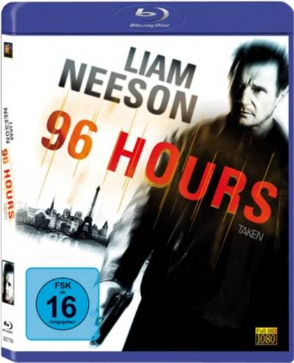 blu-ray 96 Hours FSK: 16