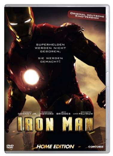 DVD Iron Man FSK: 12
