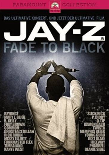 DVD Jay-Z - Fade To Black FSK: 12