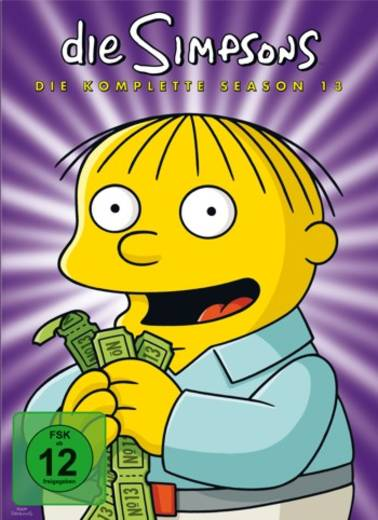 DVD Die Simpsons Staffel 13 FSK: 12