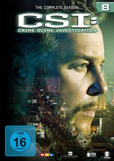 DVD CSI Crime Scene Investigation Season 8 FSK: 16