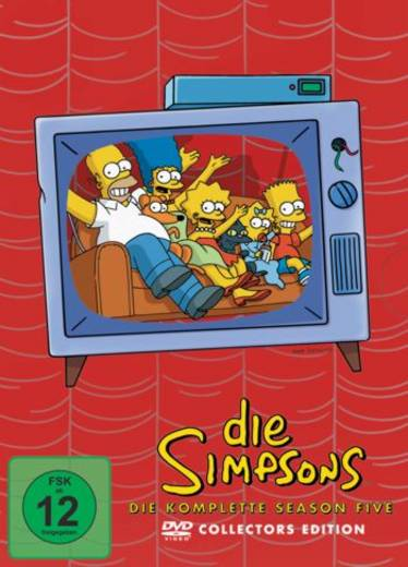 DVD Die Simpsons Staffel 5 FSK: 12