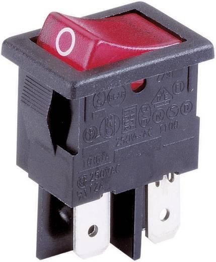 Wippschalter 230 V/AC 10 A 2 x Aus/Ein Arcolectric H8553VB NAH rastend 1 St.