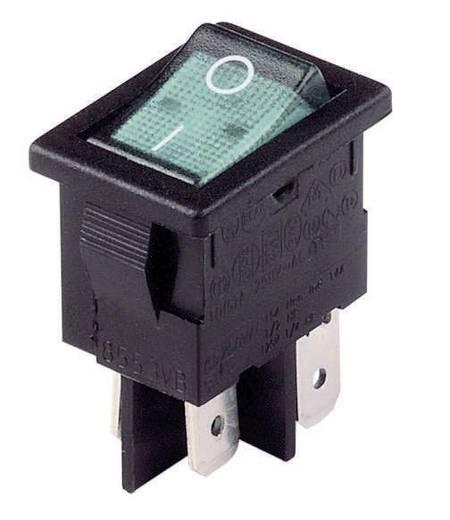 Wippschalter 230 V/AC 10 A 2 x Aus/Ein Arcolectric H 8553 VB NAC rastend 1 St.