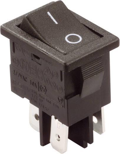Wippschalter 250 V/AC 10 A 2 x Aus/Ein Arcolectric H8550VBACA rastend 1 St.