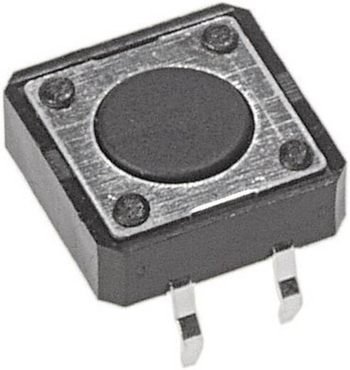 Drucktaster 12 V/DC 0.05 A 1 x Aus/(Ein) APEM PHAP3320A tastend 1 St.