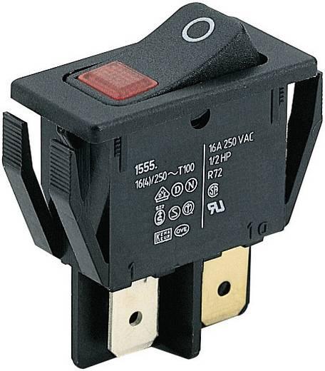 Wippschalter 250 V/AC 16 A 2 x Aus/Ein Marquardt 1555.3102 IP40 rastend 1 St.