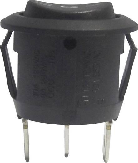 Wippschalter 250 V/AC 6 A 1 x Ein/Aus/Ein R13-112D B/B PR.I-O-II rastend/0/rastend 1 St.