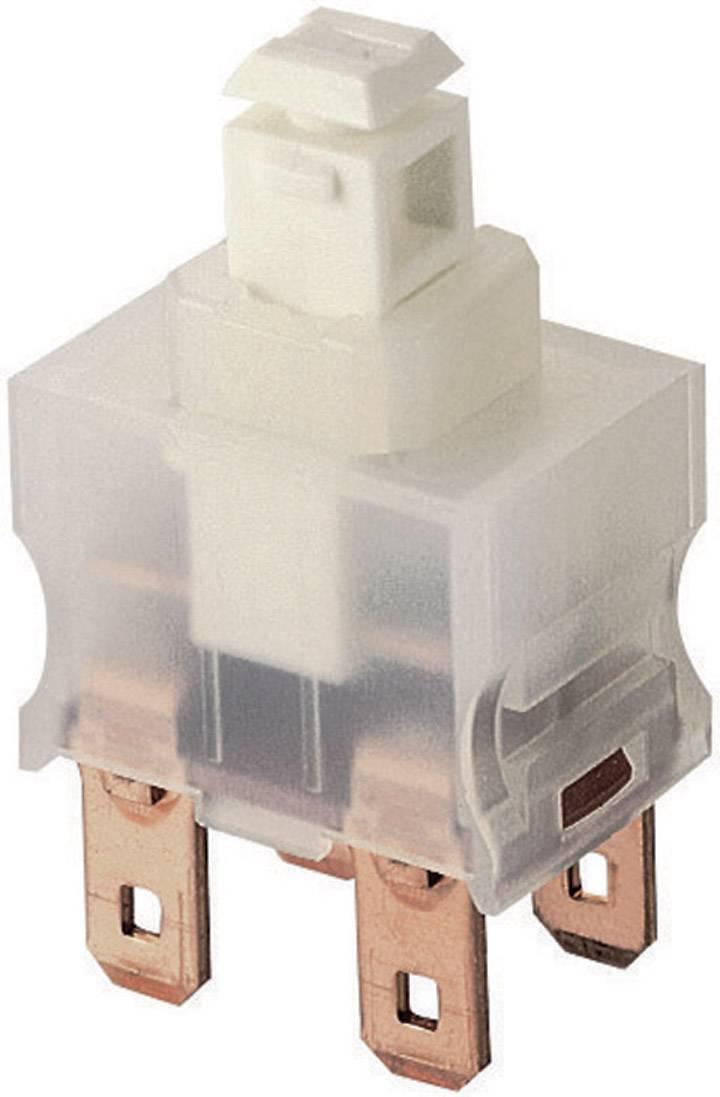 interBär 3030-611.81 Druckschalter 250 V//AC 2 A 1 x Ein//Aus  rastend 1 St.