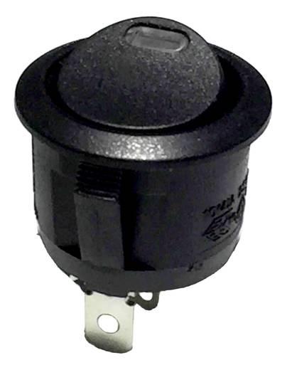 Wippschalter 250 V/AC 6 A 1 x Aus/Ein R13-112L B/B RED 3V rastend 1 St.