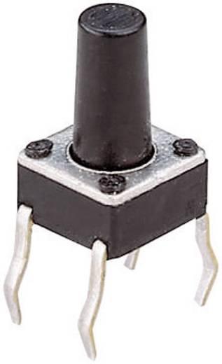 Drucktaster 24 V/DC 0.05 A 1 x Aus/(Ein) T604 tastend 1 St.