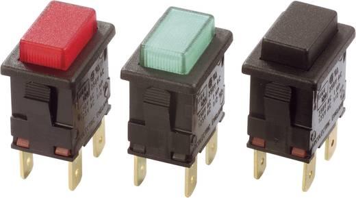 Druckschalter 230 V/AC 16 A 2 x Aus/Ein Arcolectric H8353ABNAA rastend 1 St.