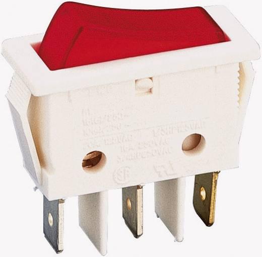 Wippschalter 250 V/AC 16 A 1 x Aus/Ein B116 C2G 000 rastend 1 St.