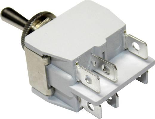 Kippschalter 250 V/AC 15 A 2 x Ein/Ein APEM 646H/2 / 6463676 rastend 1 St.