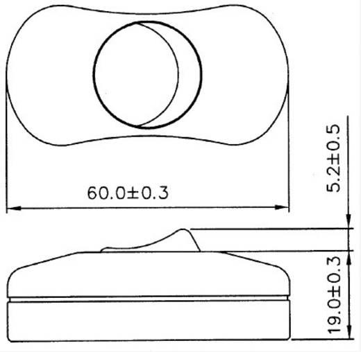 Schnurschalter Weiß 1 x Aus/Ein 6 A SCI R13-901 1 St.