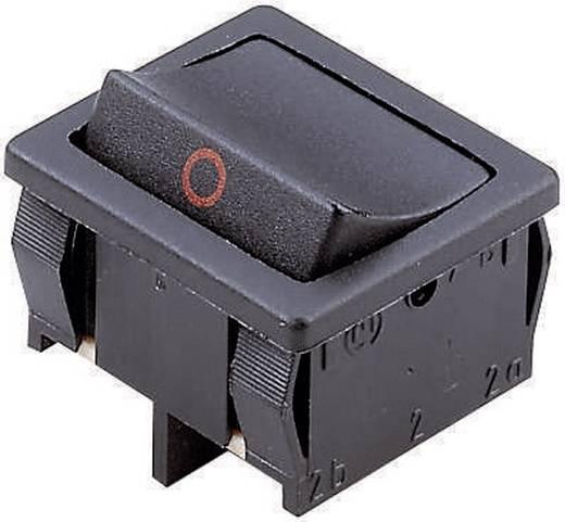 Wippschalter 250 V/AC 6 A 2 x (Ein)/Aus/(Ein) Marquardt 1809.1302 IP40 tastend/0/tastend 1 St.