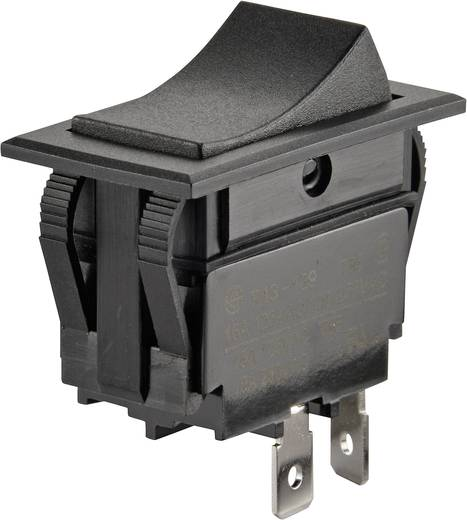 Wippschalter 250 V/AC 10 A 1 x Aus/Ein SCI R13-129A-01 rastend 1 St.
