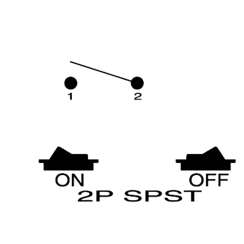 SCI Wippschalter R13-66A-02 250 V/AC 6 A 1 x Aus/Ein rastend 1 St ...