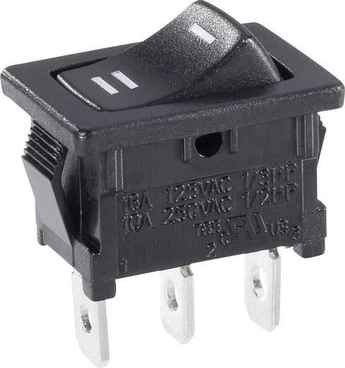 Wippschalter 250 V/AC 6 A 1 x Ein/Ein SCI R13-66C-02 rastend 1 St.
