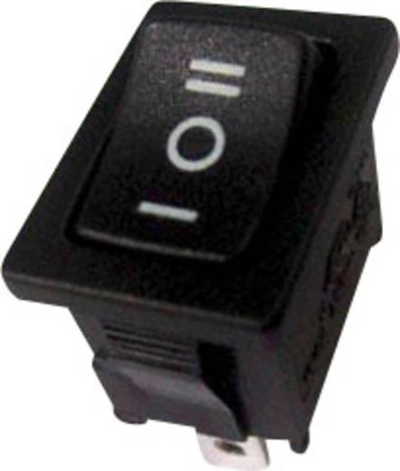 Wippschalter 250 V/AC 6 A 1 x Ein/Aus/Ein SCI R13-66D-02 rastend/0/rastend 1 St.