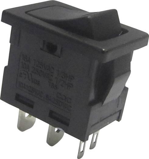 Wippschalter 250 V/AC 6 A 1 x Aus/Ein SCI R13-66L-02 rastend 1 St.