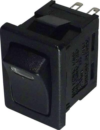 Wippschalter 250 V/AC 6 A 1 x Aus/Ein SCI R13-66L-02 LED 12V/DC rastend 1 St.