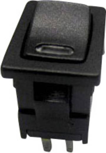 Wippschalter 250 V/AC 6 A 1 x Aus/Ein SCI R13-66L-02 LED 24V/DC rastend 1 St.